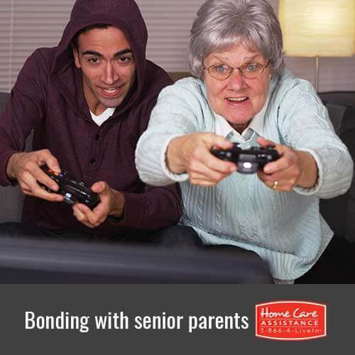 Why It's Important to Bond with Elderly Parents in The Grand Strand, NC