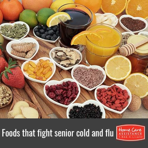 Healthy Foods that Helps Seniors Kick a Cold or Flu in The Grand Strand, SC