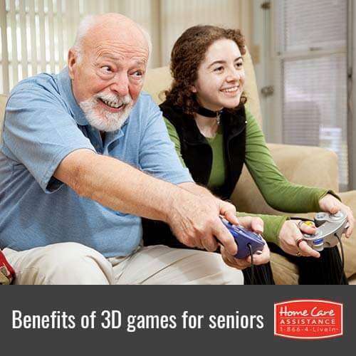 Understanding the Benefits of 3D Video Games for Seniors in The Grand Strand, SC