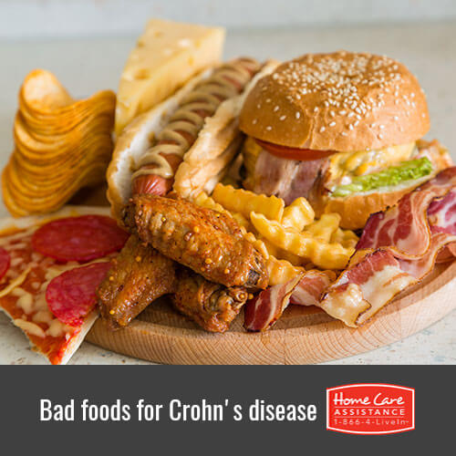 Foods for Seniors to Avoid When They Have Crohn's Disease in The Grand Strand, SC
